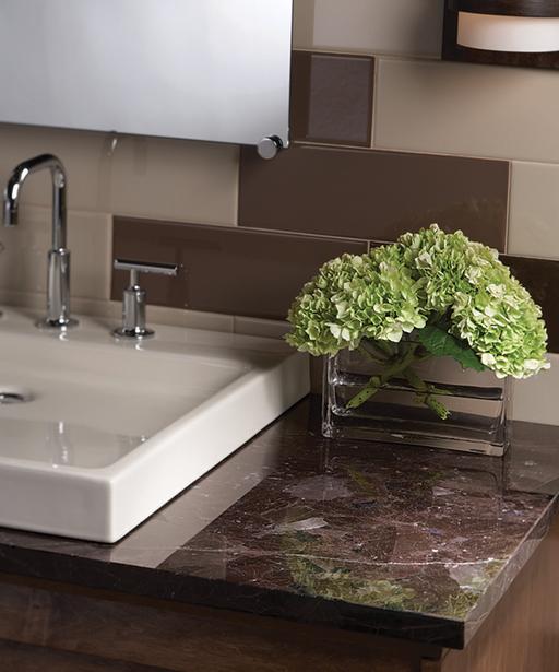 Granite Countertop - Marron Cohiba