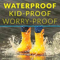 Waterprrof Kid-Proof & Worry Proof Luxury Vinyl Flooring